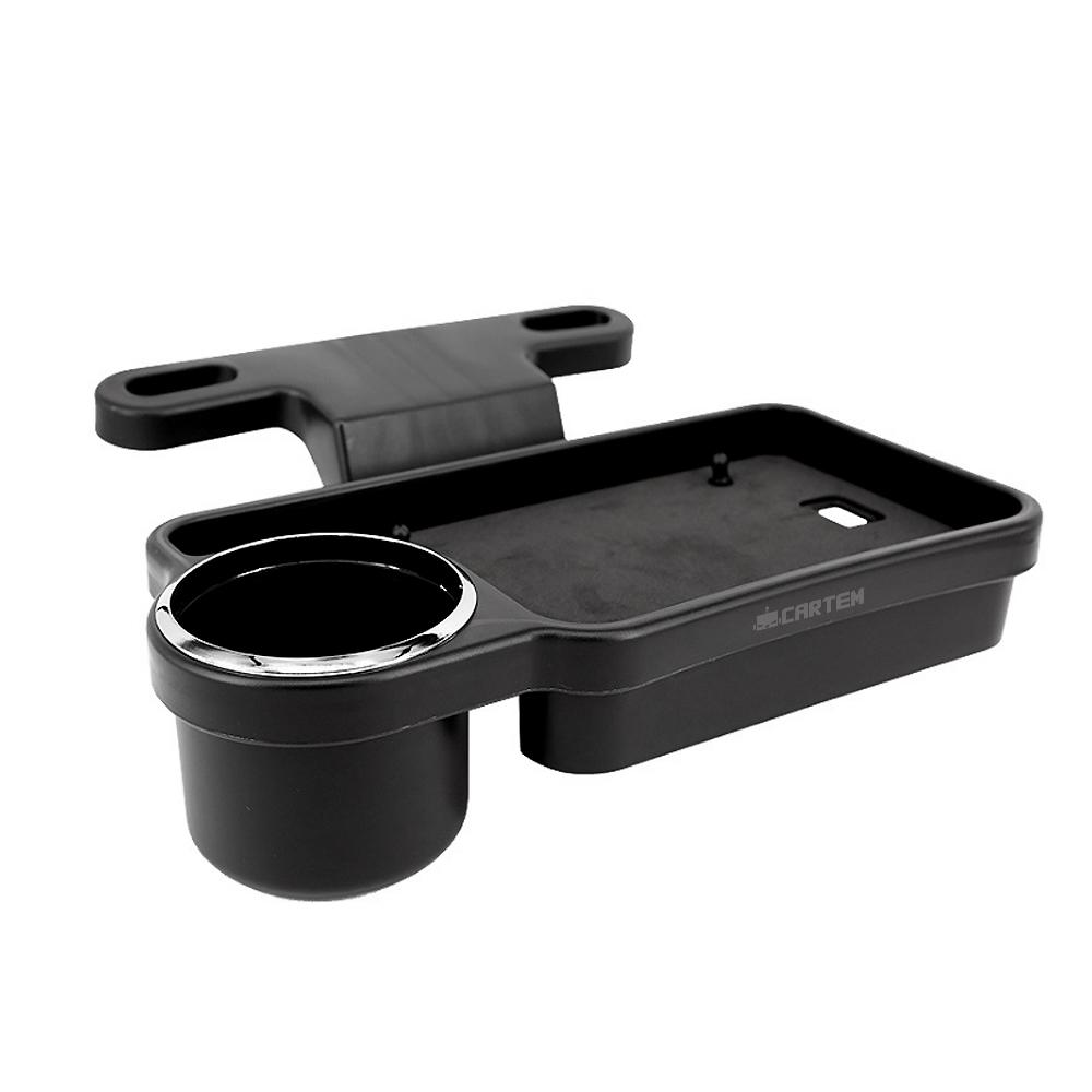 카템 헤드레스트 폴딩 컵홀더 테이블 CT147, 1개