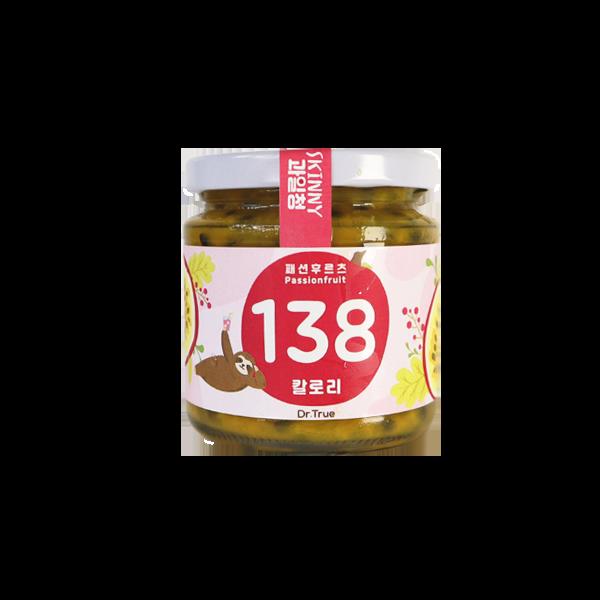 닥터트루 무설탕 패션후르츠 스키니 과일청, 300ml, 1개