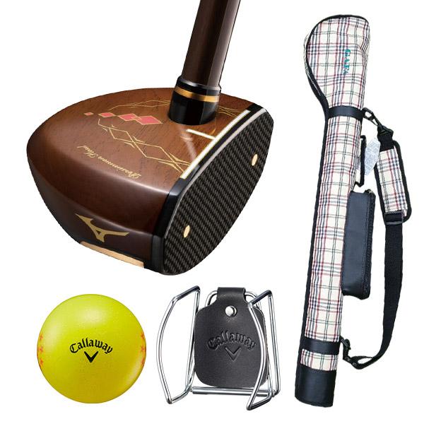 [파크골프채] 미즈노 파크 클럽 골프용품 4종세트 브라운, MS-01 - 랭킹10위 (685000원)
