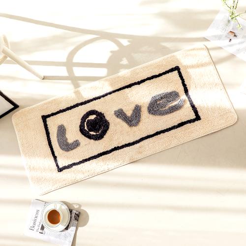 [홈시그니처] 마더스홈 핸드메이드 3D 시그니처 발매트 대형, 러브 - 랭킹8위 (18900원)