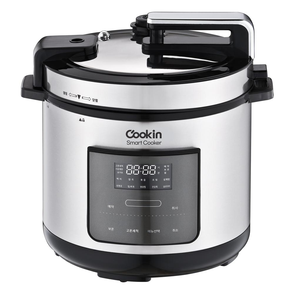 키친플라워 쿠킨 스마트 압력 쿠커 6.0L, KEP-ZH1200