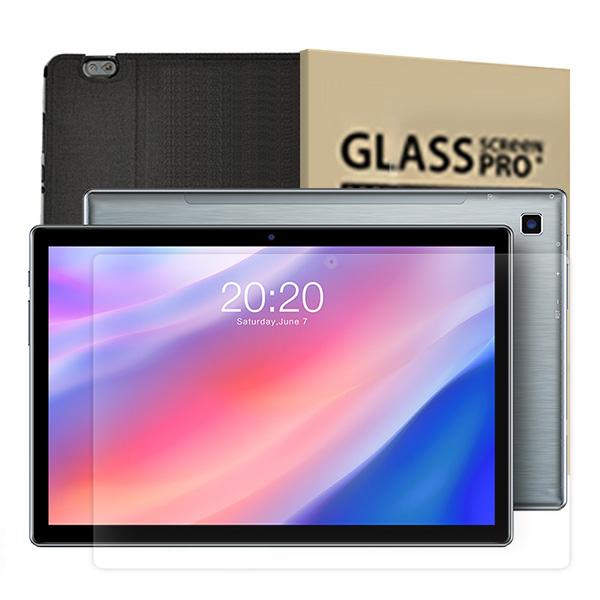 태클라스트 2세대 옥타코어 멀티미디어 태블릿PC + 강화유리필름 + 케이스 블랙, P20HD, 혼합색상