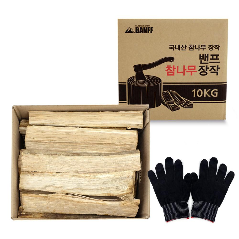 밴프 참나무 장작 CT026, 10kg, 1개