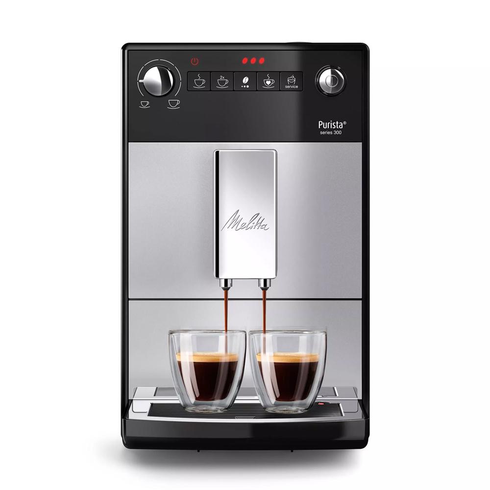 [커피머신] 밀리타 카페오 퓨리스타 전자동 커피머신 실버, F23/0-101 - 랭킹84위 (518080원)