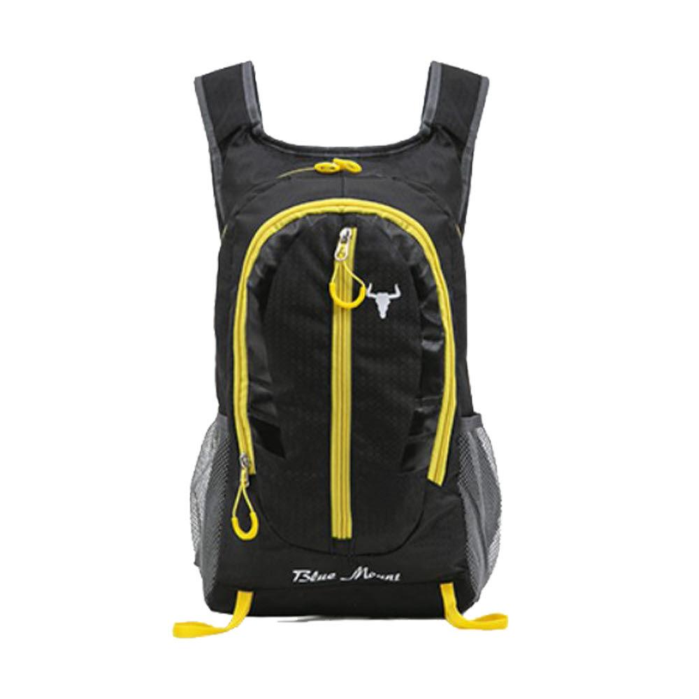 페라어스 남녀공용 제스터 등산 백팩 가방 OCBBT0003, 블랙