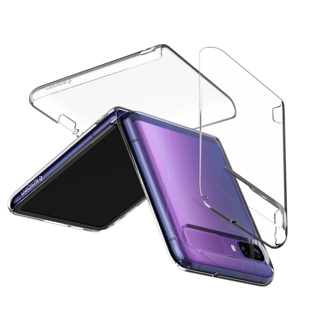 [갤럭시 플립] 슈피겐 씬핏에어 크리스탈 클리어 휴대폰 케이스 ACS02671 - 랭킹24위 (22950원)