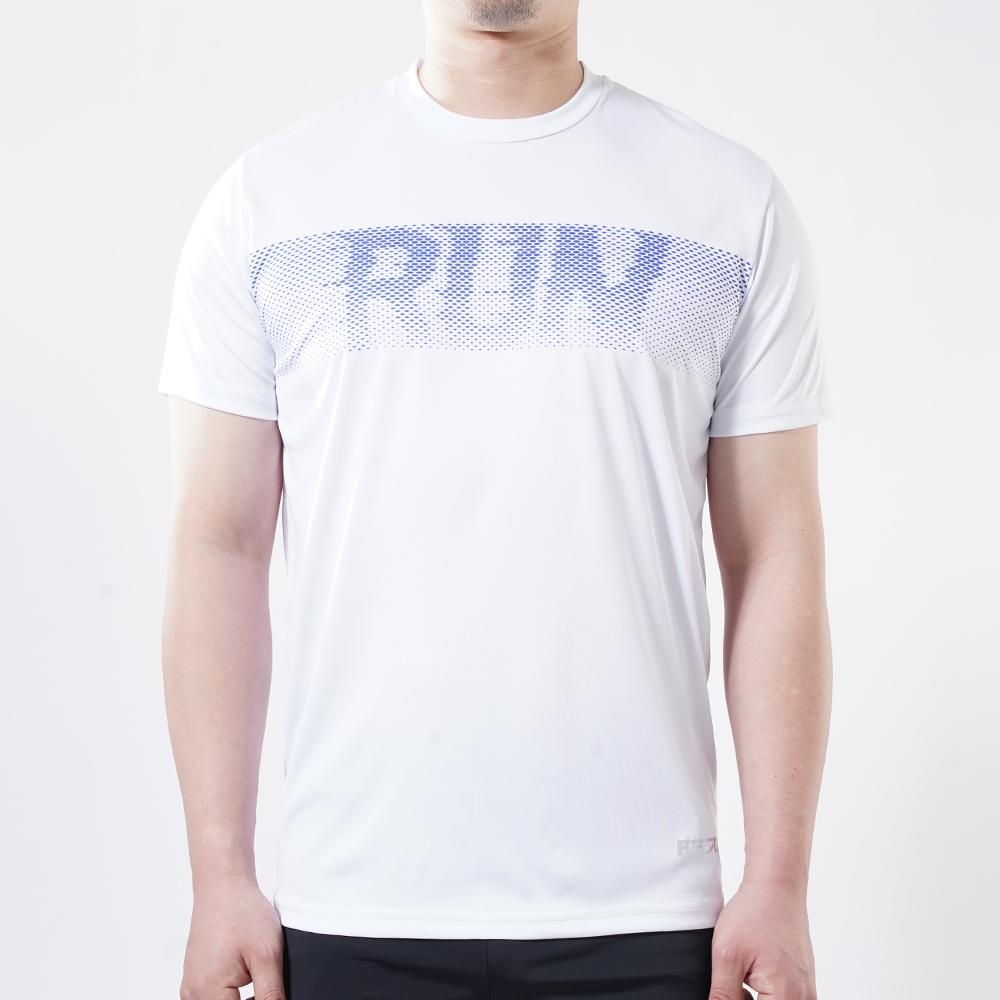 아르꼬 남성용 쿨 스트레치 펀칭 메쉬 RUN 테크핏 반팔 라운드 티셔츠