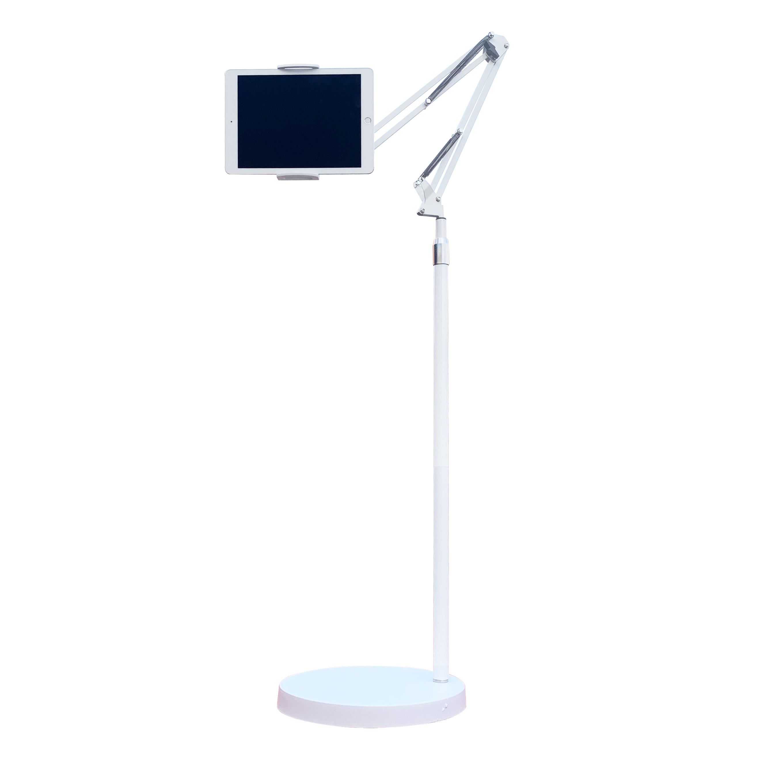 몰라덴 X&X 2세대 태블릿 거치대, 원형-화이트-8-4611054122
