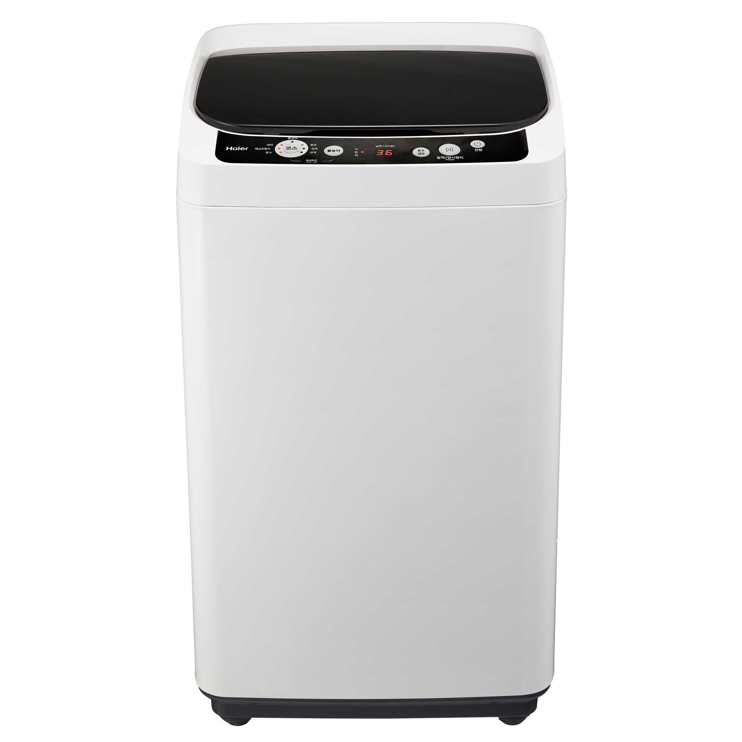 하이얼 1등급 일반소형 통돌이 세탁기 HWM40FTW 4kg