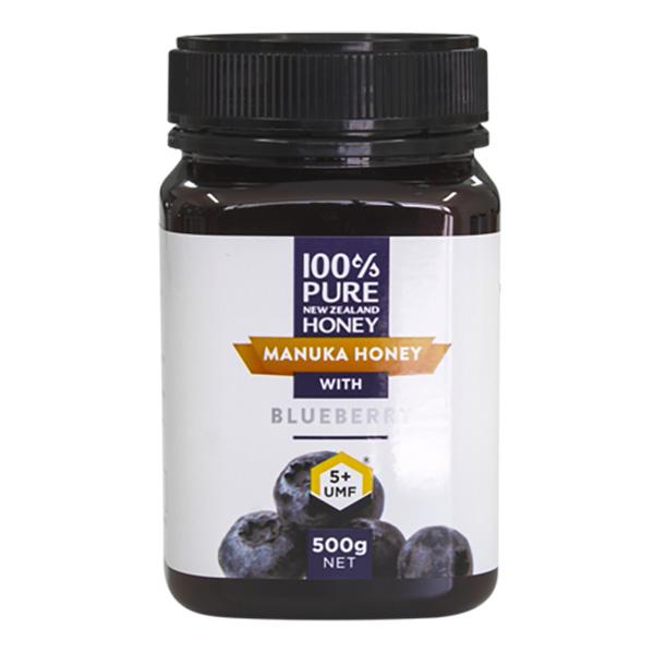 [마누카 꿀] 뉴질랜드 마누카꿀 UMF5+ 블루베리, 500g, 1개 - 랭킹35위 (55000원)