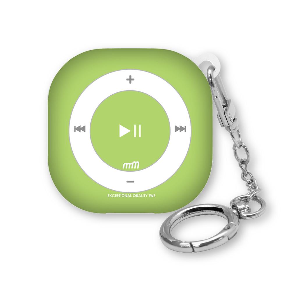 웨이브스튜디오 소울 디자인 갤럭시 버즈프로/버즈라이브 / 버즈2 케이스, 뉴레트로 MP3 D