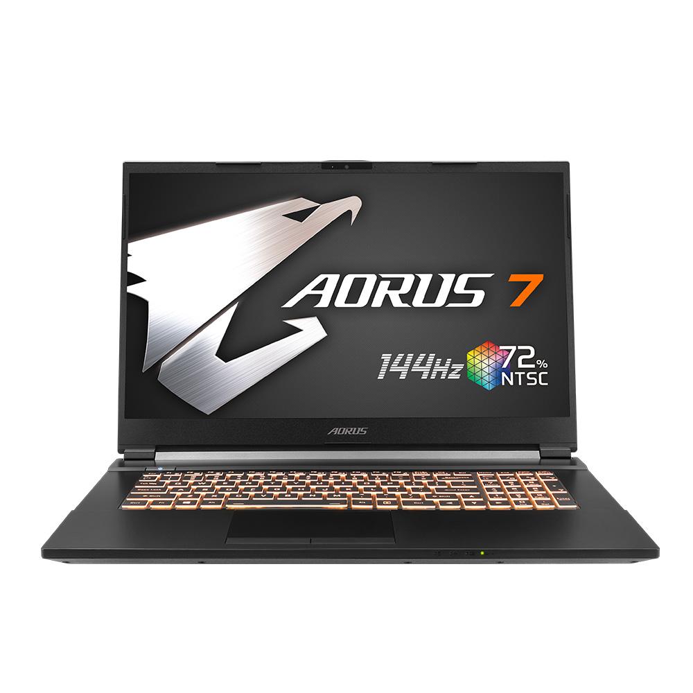 기가바이트 AORUS 7 블랙 게이밍 노트북 MB i7 C Win10 (i7-10750H 43.9cm GTX1650Ti WIN10 Home), 256GB, 윈도우 포함, 16GB