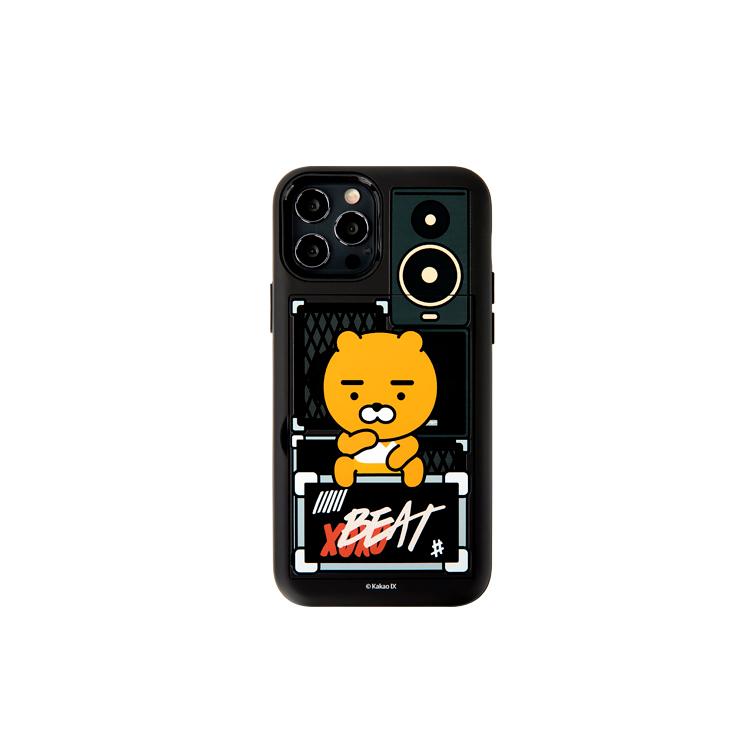 카카오프렌즈 힙합라이언 오픈카드 휴대폰 케이스-11-4889438599