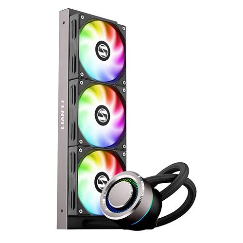 리안리 CPU 수냉 쿨러 GALAHAD AIO 360 ARGB, GALAHAD AIO 360 ARGB(Black)