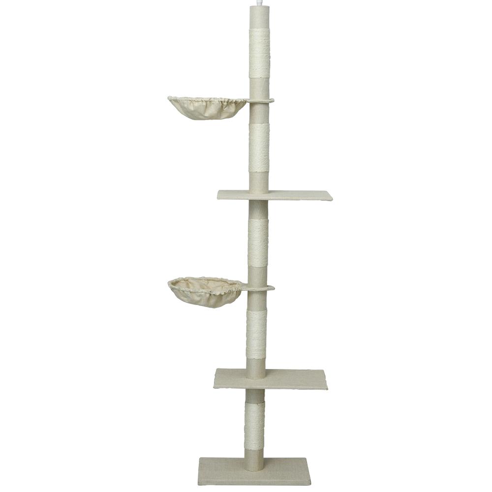 헬로망치 고양이 프리미엄 직조 캣폴 W422, 혼합색상, 1개