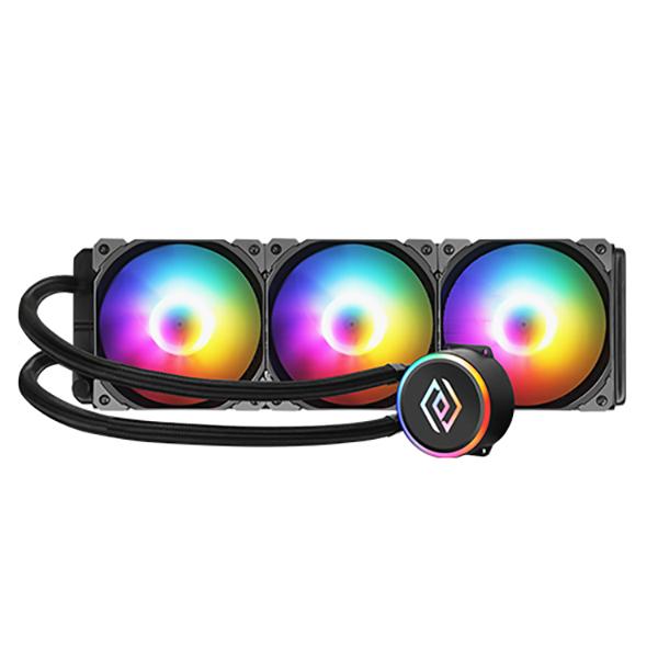 앱코 NCORE 수냉 RGB CPU 쿨러, L360