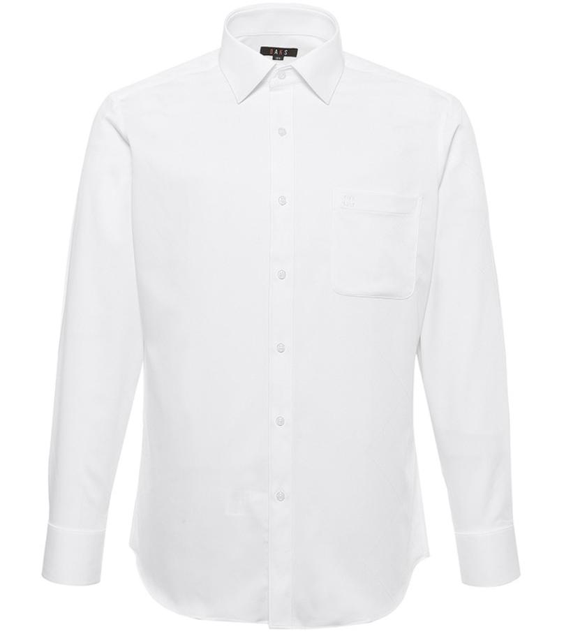 닥스 남성용 자가드 커프스 포인트 셔츠 레귤러핏 DHG1SHDL111A1