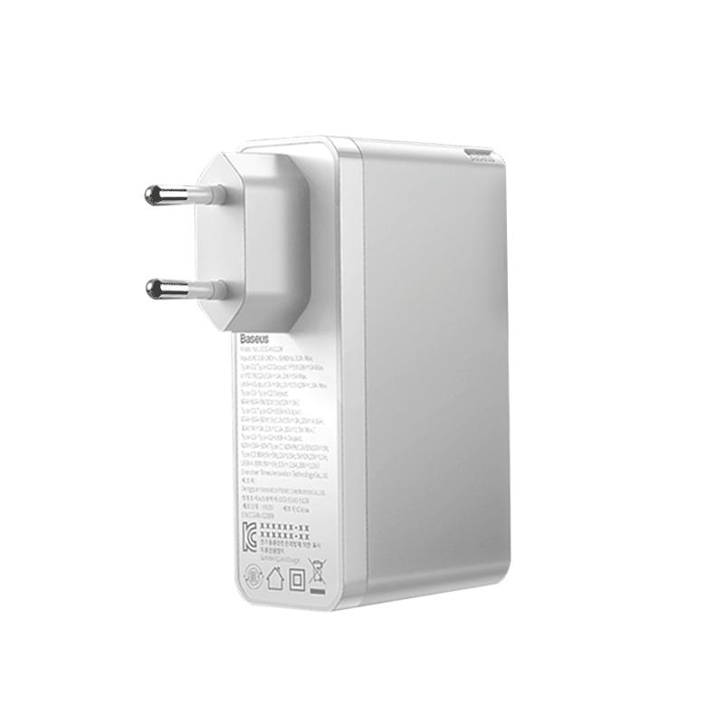 [베이스어스] 베이스어스 엠피맨 GaN 2 Pro 한국형 플러그 고속 PD 멀티 충전기 120W, 화이트(CCGAN2P-D02), 1개 - 랭킹7위 (79000원)