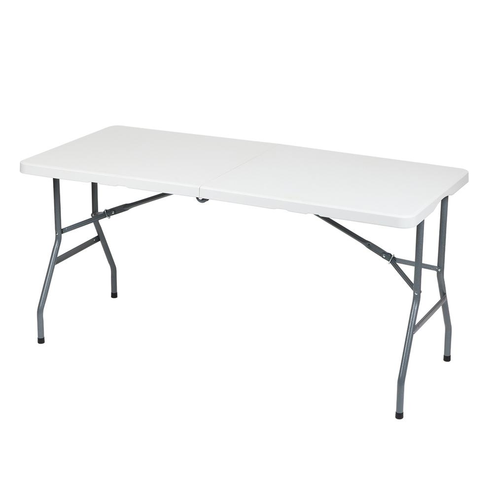 [테이블 1500] 도리퍼니처 뉴 브로몰딩 1500 접이식 테이블, 화이트 - 랭킹2위 (51000원)