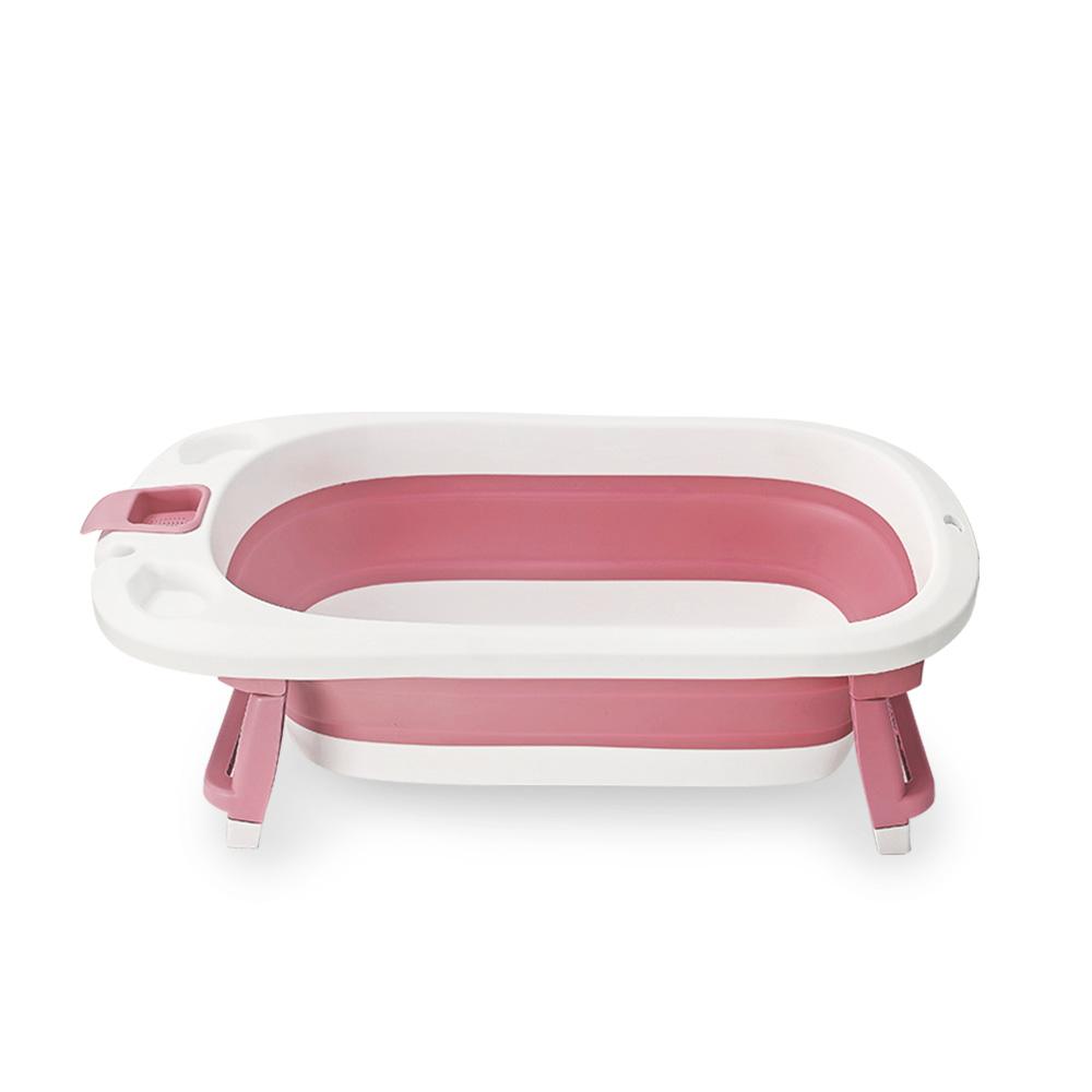 펫트리움 반려동물 접이식 욕조, 핑크, 1개 (POP 4804049392)
