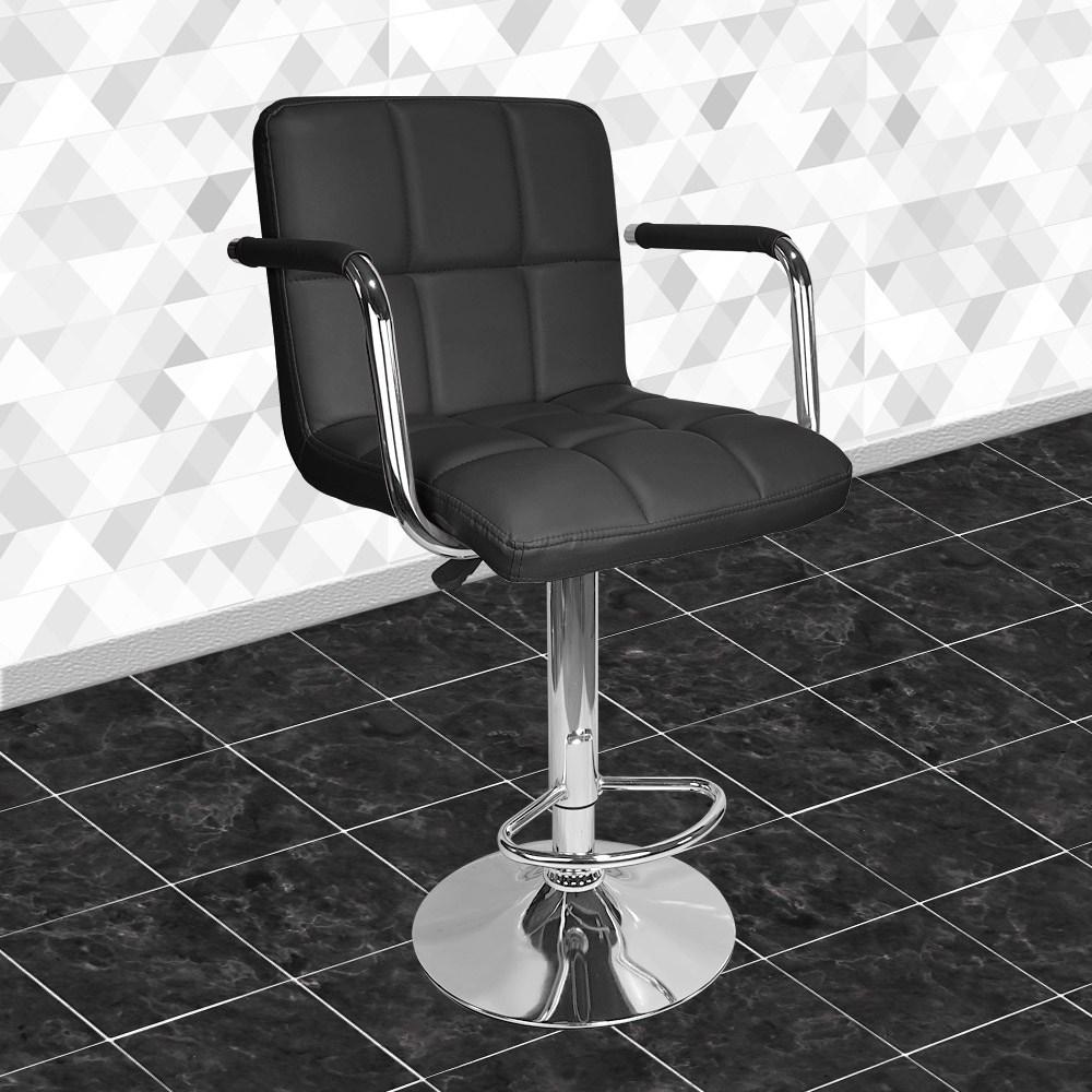 비엠코리아 엠보 바텐 의자, 블랙