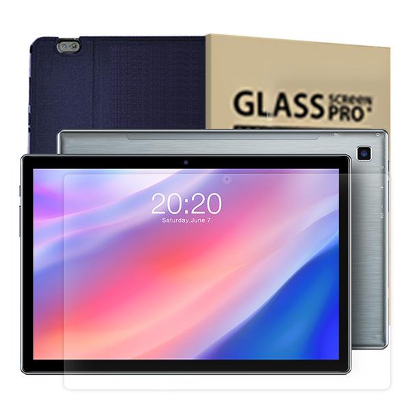 태클라스트 2세대 옥타코어 멀티미디어 태블릿PC + 강화유리필름 + 케이스 블루, P20HD, 혼합색상