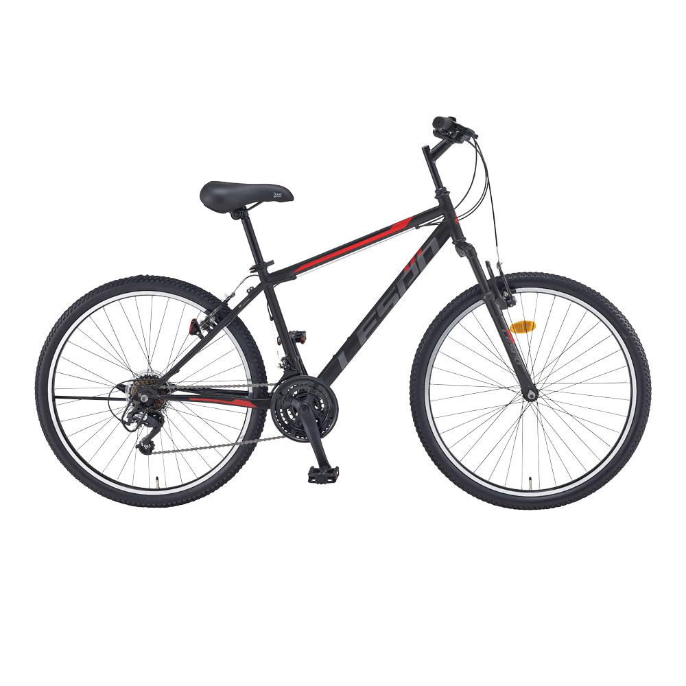 레스포 탑포스 SF 21단 66.04cm 자전거 + 무료 조립 쿠폰, 블랙 + 레드(무광), 169cm