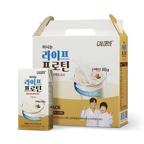 칼로바이 마시는 라이프 프로틴 단백질 음료  200ml  16개마이밀 마시는 뉴프로틴 로우슈거 바나나맛  190ml  16개셀