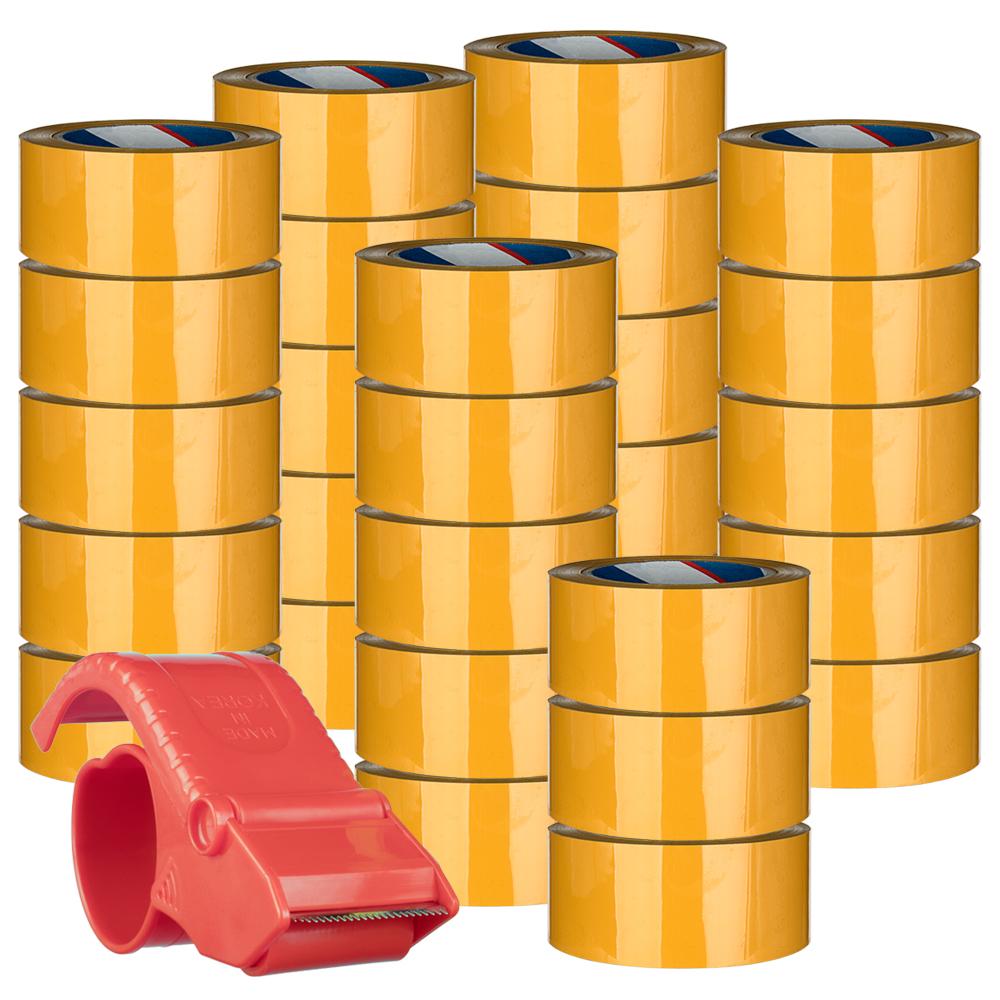 대박테이프  48mm x 80m + 테이프 커터기, 28개 (POP 1889114297)