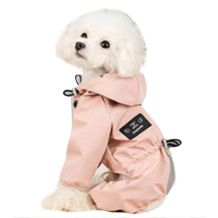 딩동펫 반려동물 노스 방수 올인원, 핑크