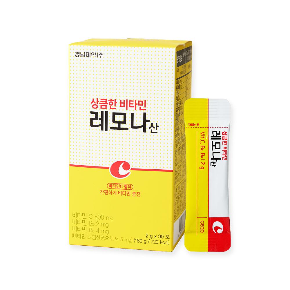 레모나 산 비타민 90p, 180g, 1개-2-5201146200