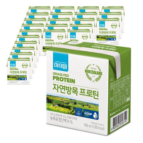 마이밀 마시는 자연방목 프로틴, 150ml, 24개