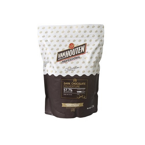 칼리바우트 반호튼 카카오 57.7% 다크 커버쳐 초콜릿, 1.5kg, 1개