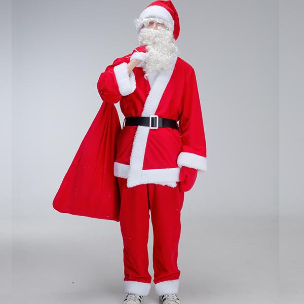럭셔리 남자 산타복 7종 세트