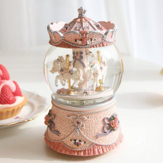 세렌디피티 회전목마 오르골, 세렌디피티 핑크