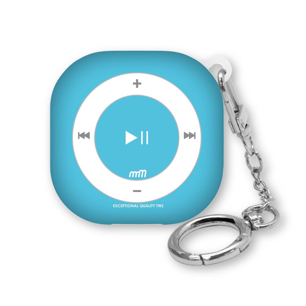 웨이브스튜디오 소울 디자인 갤럭시 버즈프로/버즈라이브 / 버즈2 케이스, 뉴레트로 MP3 C