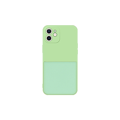 루다 파스텔 실리콘 카드 포켓 휴대폰 케이스 (POP 5611899387)