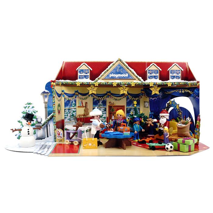 플레이모빌 어드벤트 캘린더 크리스마스 장난감 가게 피규어 70188, 1개