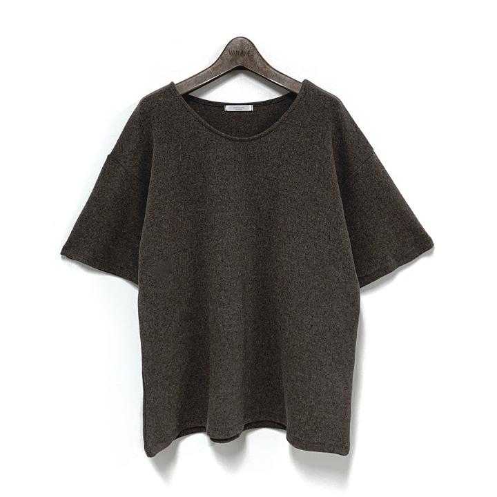 반에이크 여성용 요즈 기모 반팔 티셔츠