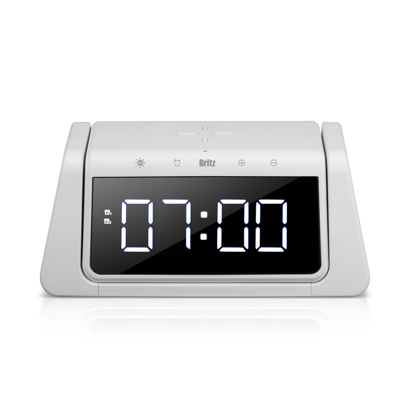 [살균 소독 led] 브리츠 UVC LED 살균기 앤 고속무선충전기 시계, BA-ALS1(화이트) - 랭킹3위 (49400원)