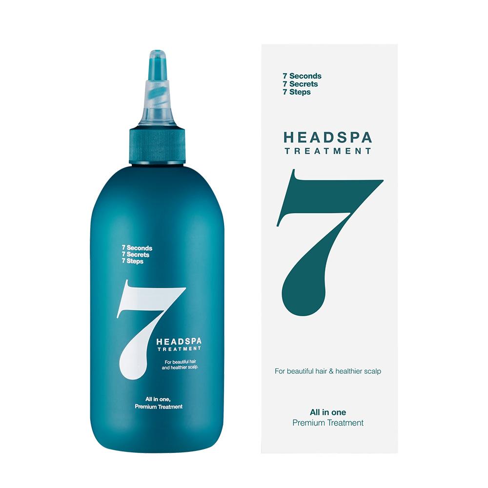 헤드스파7 파란눈 블랙 헤어팩 트리트먼트, 300ml, 1개