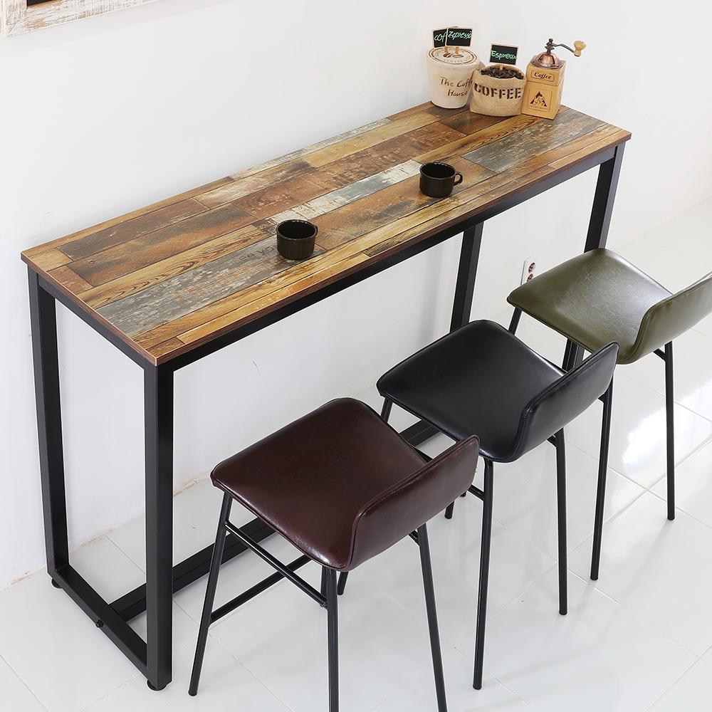 [테이블 1500] 더조아 모던 바테이블 1500mm, 빈티지브라운 - 랭킹3위 (83900원)