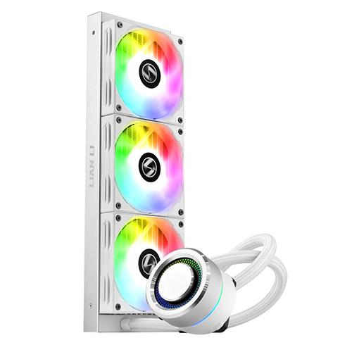 리안리 CPU 수냉 쿨러 GALAHAD AIO 360 ARGB, GALAHAD AIO 360 ARGB(White)