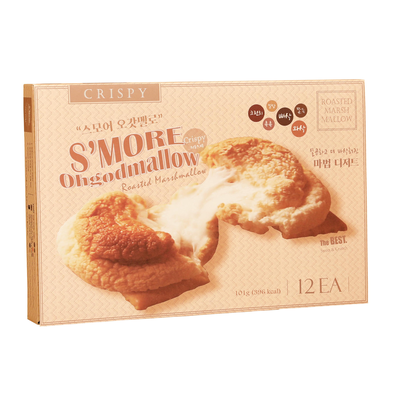[스모어] 스모어 오갓멜로 Crispy 12p, 101g, 1개 - 랭킹2위 (9200원)