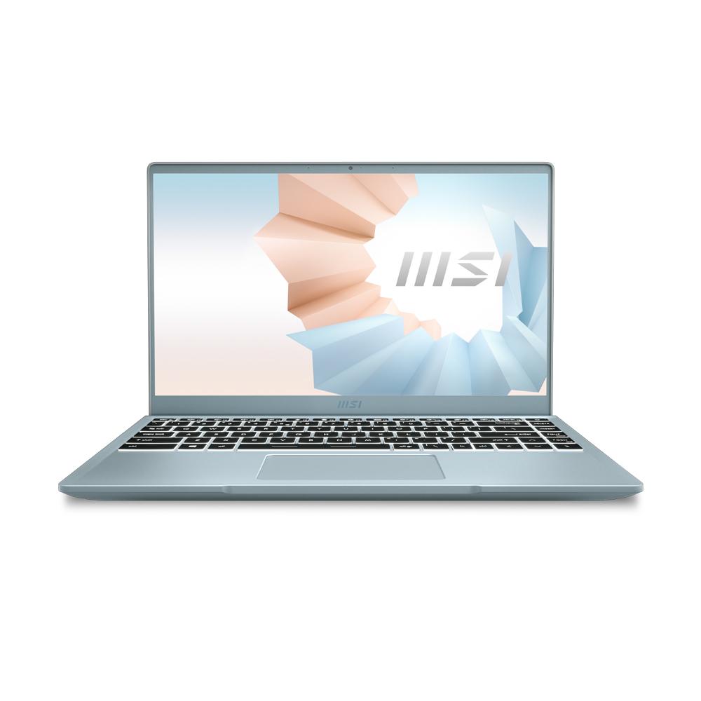 MSI 모던14 블루스톤 노트북 B11M-i5 096 (i5-1135G7 35.56cm), 윈도우 미포함, 512GB, 8GB