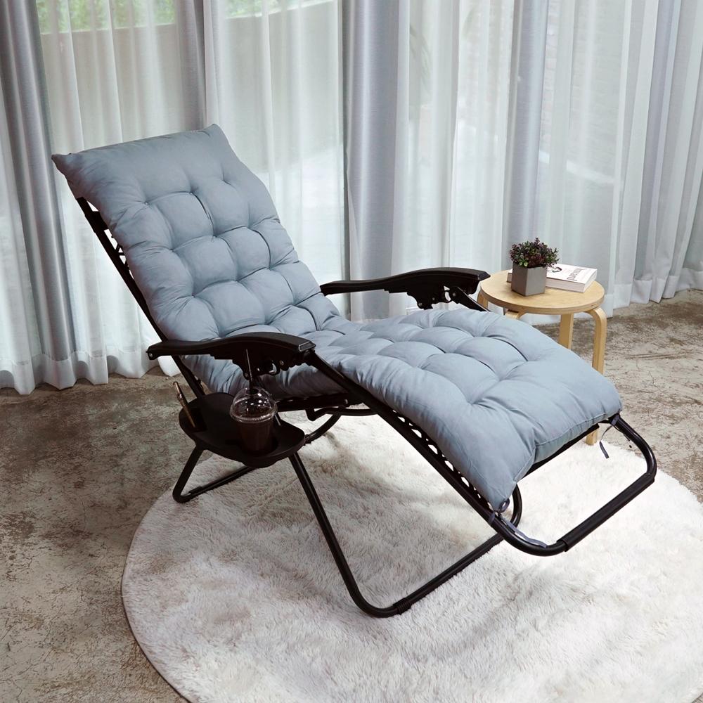 무중력 접이식 리클라이너 의자, 블랙