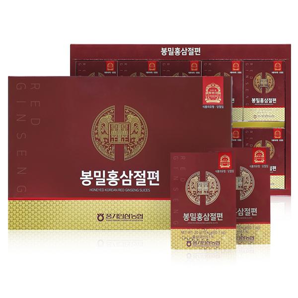 [황풍정] 황풍정 봉밀 홍삼 절편 10p, 200g, 1개 - 랭킹5위 (29570원)