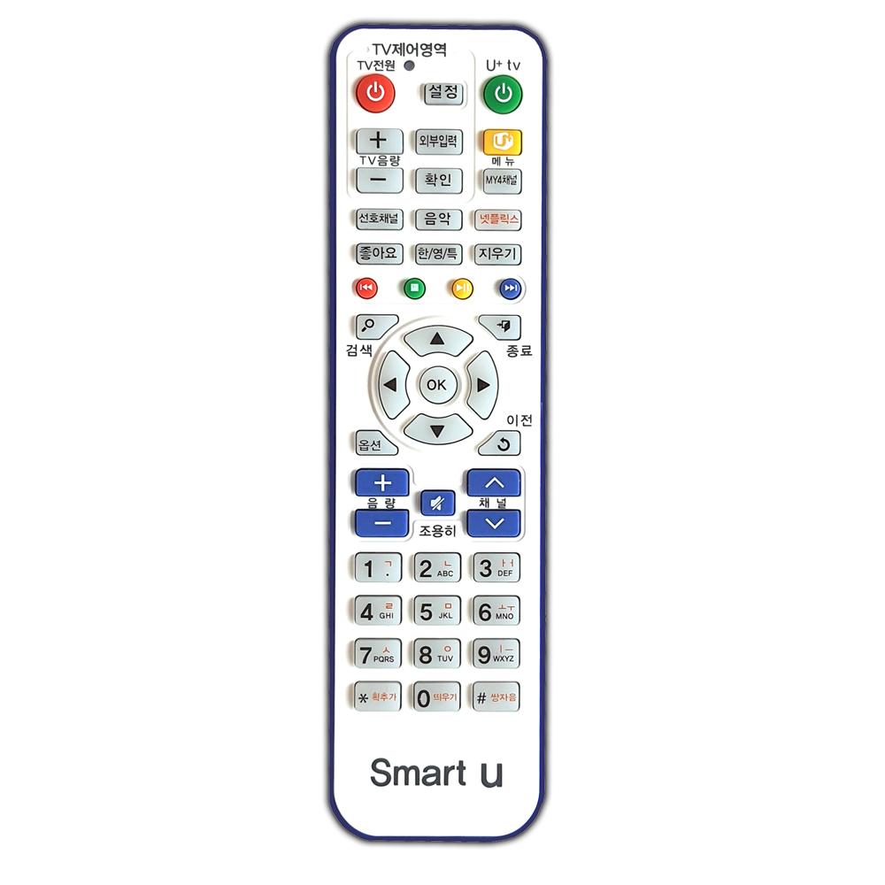 엘지 유플러스 / U+ IPTV 셋톱박스 리모컨, SMART-U (POP 5392881449)