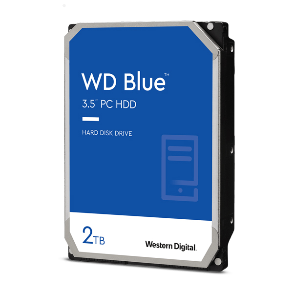 WD Blue HDD SATA3 하드디스크, WD20EZBX, 2TB