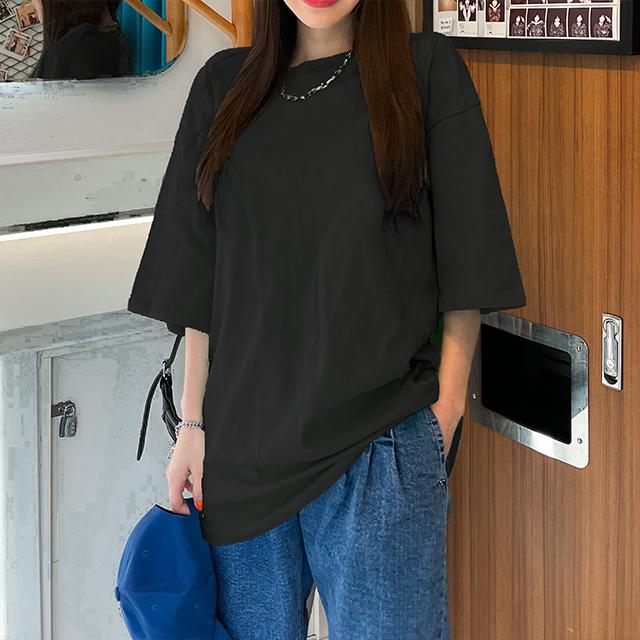[썸머 프리핏] 매드시스터 여성용 아비가일 오버핏 반팔 티셔츠 - 랭킹52위 (8900원)